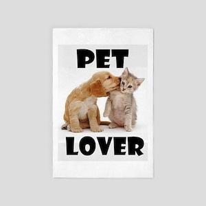 Pet Lover 4' X 6' Rug
