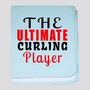 The Ultimate Curling Player baby blanket