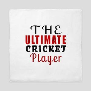 The Ultimate Cricket Player Queen Duvet
