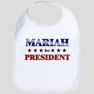 MARIAH for president Bib