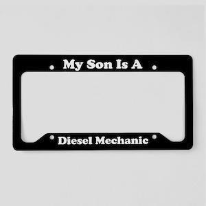 Son - Diesel Mechanic - LPF License Plate Holder
