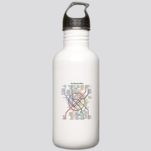METRO MAPS - MOSCOW - Stainless Water Bottle 1.0L