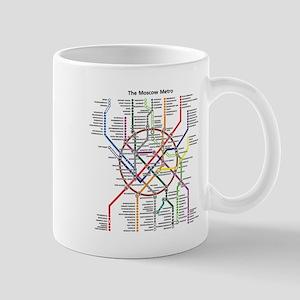 METRO MAPS - MOSCOW - RUSSIA. Mugs