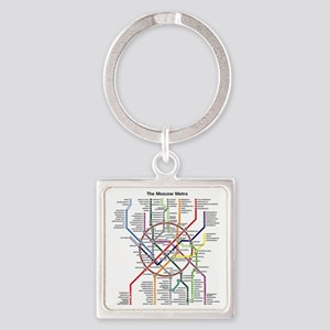 METRO MAPS - MOSCOW - RUSSIA. Keychains