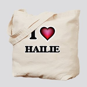 I Love Hailie Tote Bag