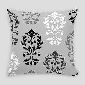 Heart Damask Art I Bwg Everyday Pillow