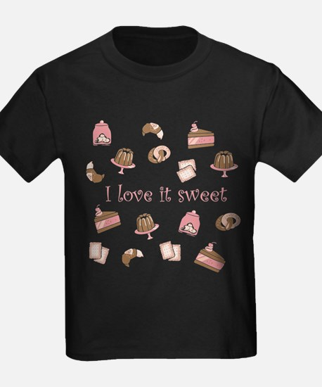 i love it sweet cakes and cookies T-Shirt