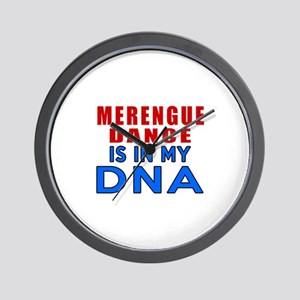 Merengue Dance Is In My DNA Wall Clock