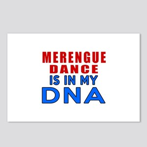 Merengue Dance Is In My Postcards (Package of 8)