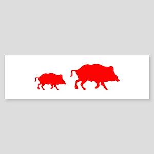 Pigs Bumper Sticker