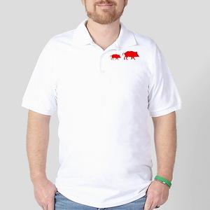 Pigs Golf Shirt