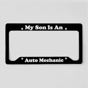 Son - Auto Mechanic - LPF License Plate Holder