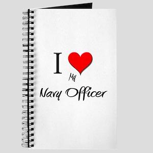 I Love My Navy Officer Journal