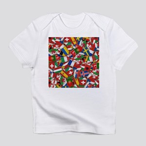 European Soccer Nations Flags Infant T-Shirt