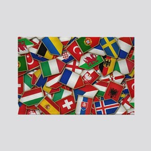 European Soccer Nations Flags Magnets