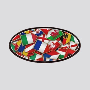 European Soccer Nations Flags Patch