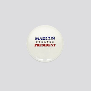 MARCUS for president Mini Button
