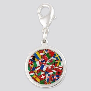 European Soccer Nations Flags Charms