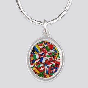 European Soccer Nations Flags Necklaces