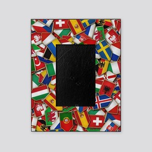 European Soccer Nations Flags Picture Frame
