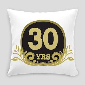 30th Wedding Anniversary Everyday Pillow