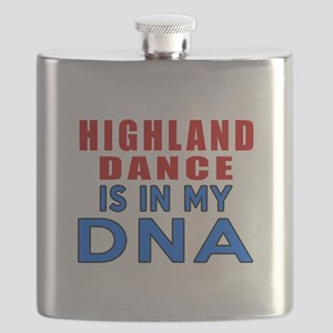 Highland Dance Is In My DNA Flask