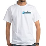 Dolphin Communication Project White T-Shirt