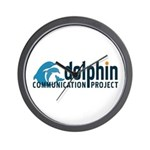Dolphin Communication Project Wall Clock