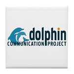 Dolphin Communication Project Tile Coaster