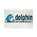 Dolphin Communication Project Rectangle Magnet (10