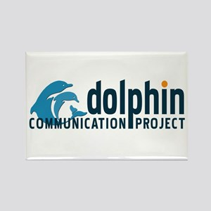 Dolphin Communication Project Rectangle Magnet