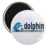 "Dolphin Communication Project 2.25"" Magnet (100 pa"