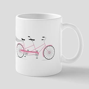 Just Married Bike Mugs