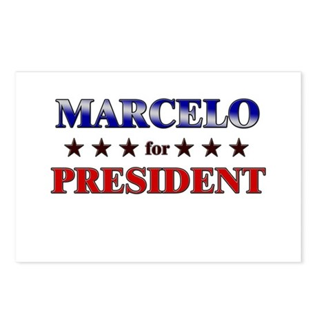 MARCELO for president Postcards (Package of 8)