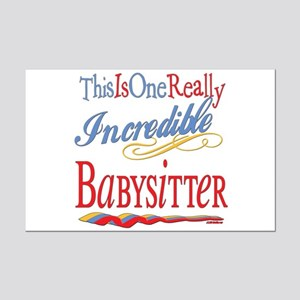 Incredible Babysitter Mini Poster Print