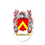 Whitley Oval Car Magnet