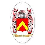 Whitley Sticker (Oval 50 pk)