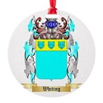 Whiting Round Ornament