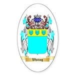 Whiting Sticker (Oval)