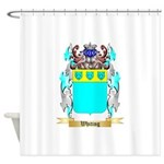 Whiting Shower Curtain