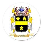 Whitham Round Car Magnet