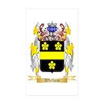 Whitham Sticker (Rectangle 50 pk)