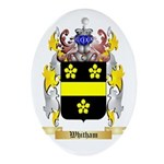 Whitham Oval Ornament