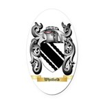 Whitfield Oval Car Magnet