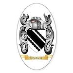Whitfield Sticker (Oval 50 pk)