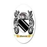 Whitfield 35x21 Oval Wall Decal
