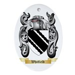 Whitfield Oval Ornament