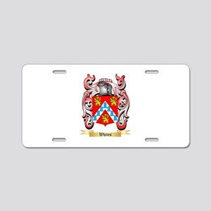 Whites Aluminum License Plate