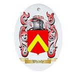 Whitely Oval Ornament