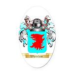 Whitelam Oval Car Magnet